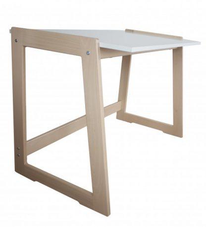 Dětský psací stůl Cré-Acti - nerostoucí bílý