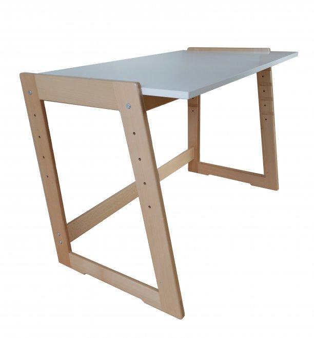 Jitro Rostoucí stůl Cré-Acti buk - bílý