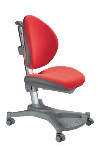 Židle MyPony Aquaclean červená