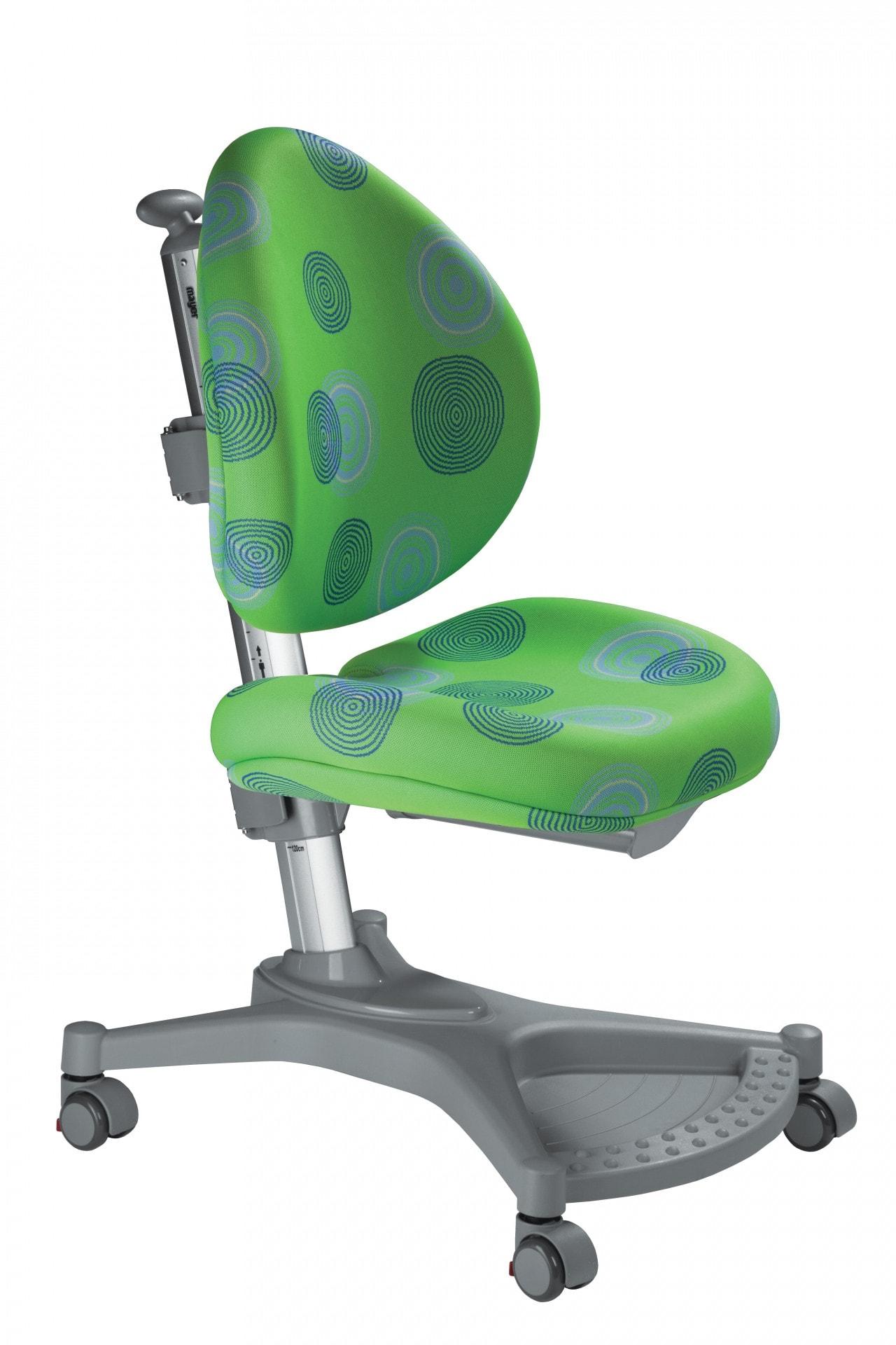 Rostoucí židle Mayer MyPony - zelené kruhy