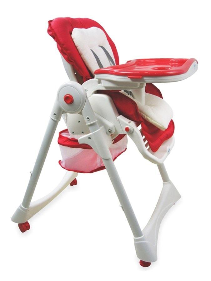 Jídelní židlička Baby Mix červená