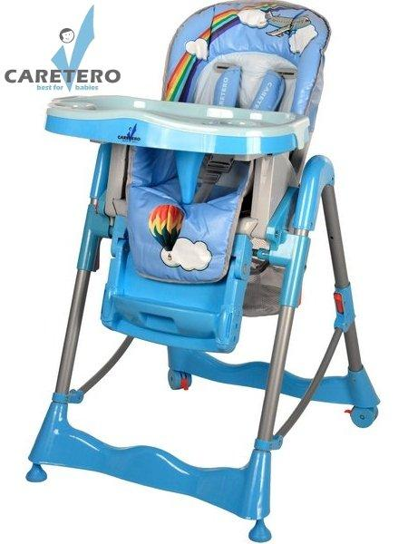 Židlička CARETERO Magnus Fun blue