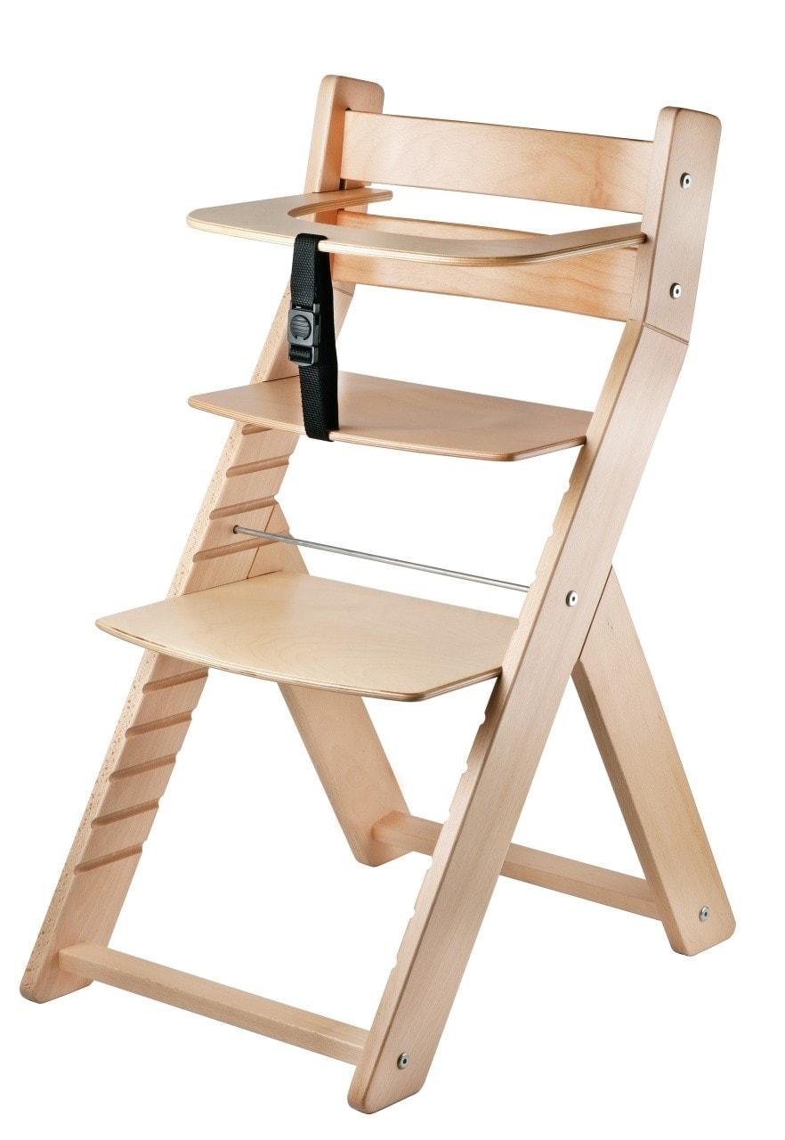 Wood Partner Rostoucí židle Luca- natur lak