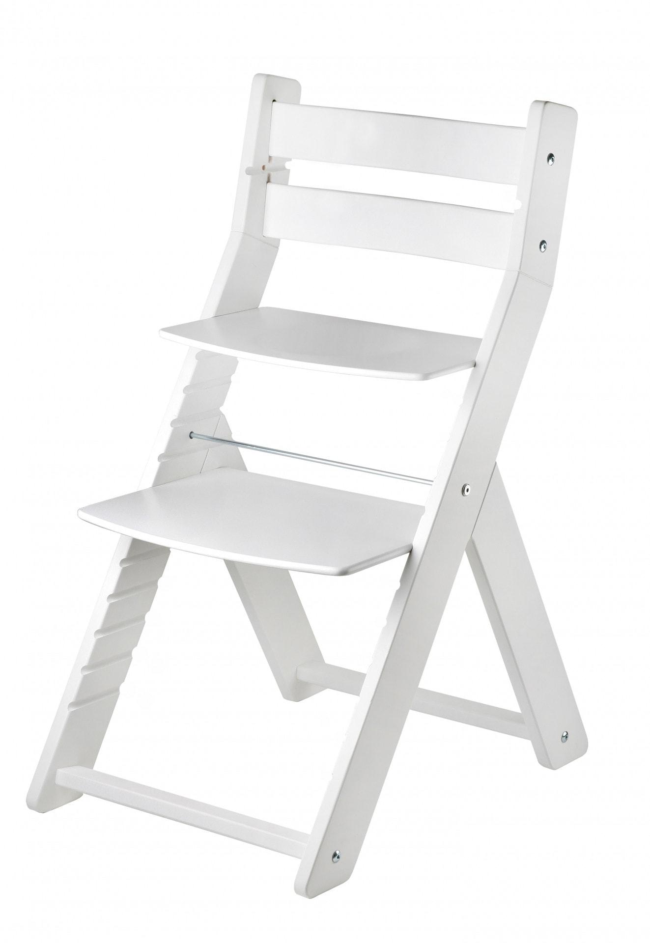Wood Partner Rostoucí židle Sandy - bílá / bílá