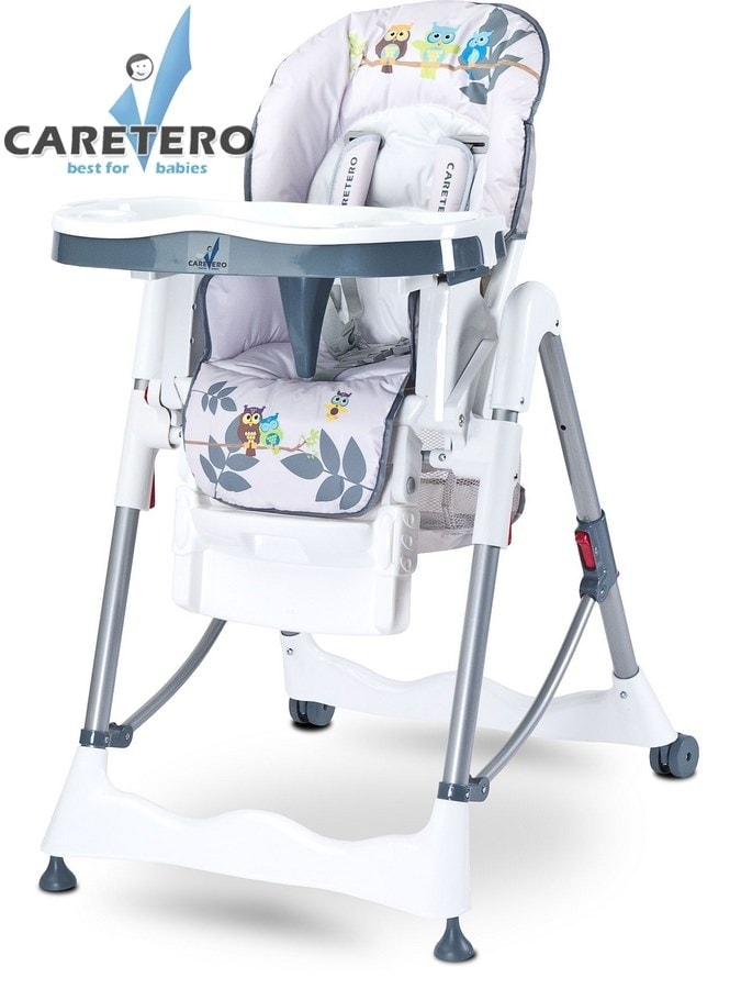 Židlička CARETERO Magnus Fun grey