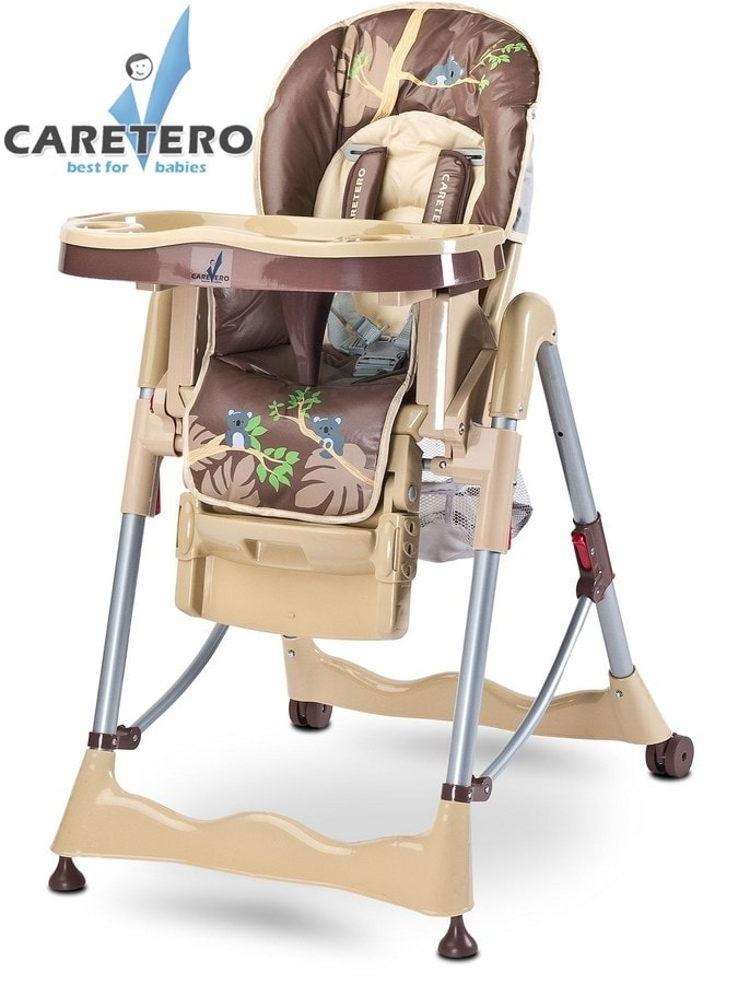 Židlička CARETERO Magnus Fun beige