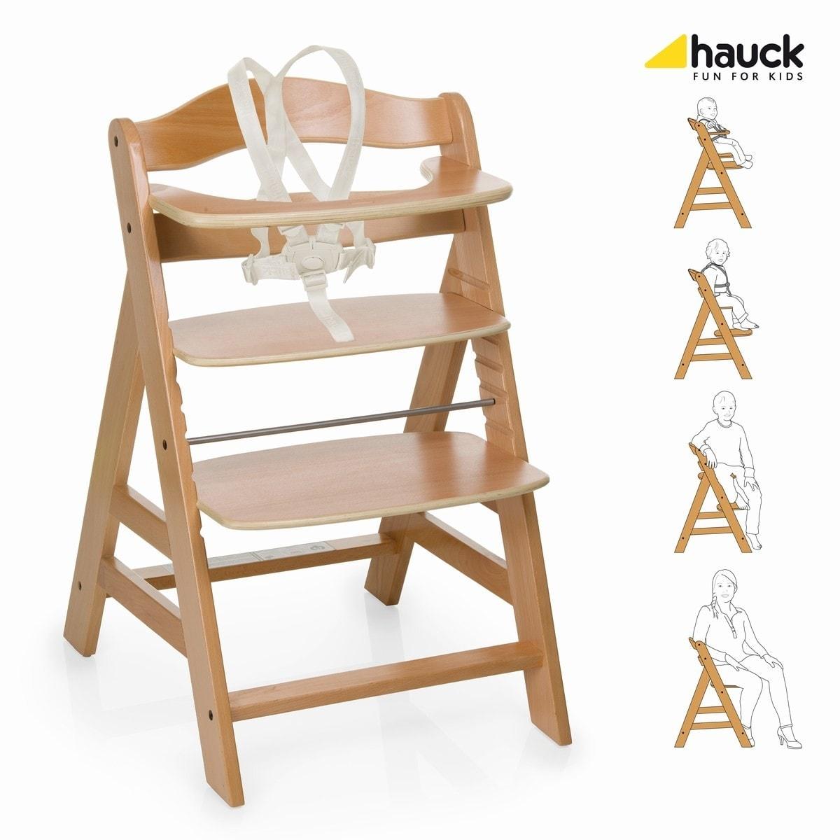 Rostoucí židle Hauck Alpha+ 2017 - natur