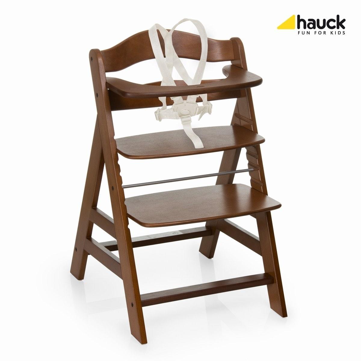 Rostoucí židle Hauck Alpha+ 2017 - Walnut