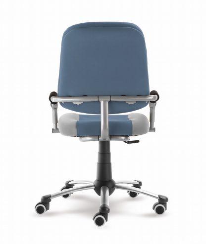 Rostoucí židle Freaky Sport - modršedá / šedá - aquaclean ze zadu