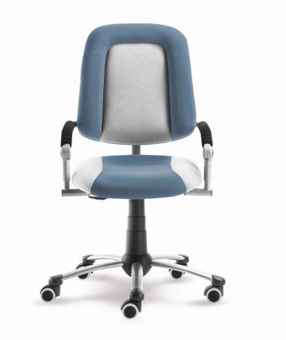 Rostoucí židle Freaky Sport - modršedá / šedá - aquaclean ze předu