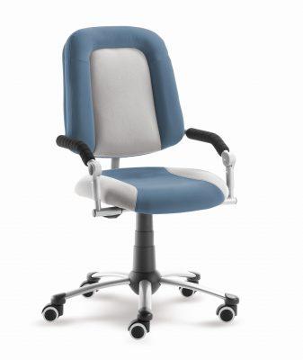 Rostoucí židle Freaky Sport - modršedá / šedá - aquaclean