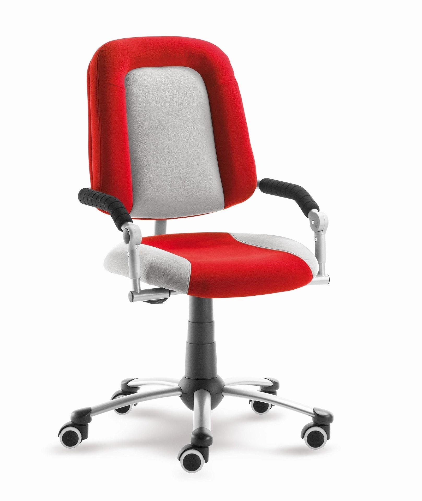 Židle Freaky Sport aquaclean červeno šedá