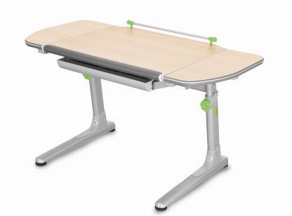 Rostoucí stůl Mayer Profi 3 5v1 javor / stříbrný se zelenými prvky