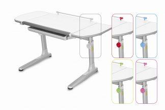 Rostoucí stůl Profi 3 5v1 bílý / stříbrný
