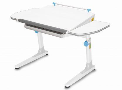 Rostoucí stůl Mayer Profi 3 5v1 bílý s modrými prvky