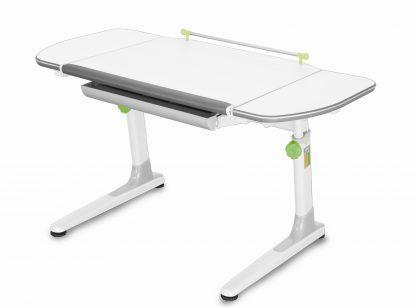 Rostoucí stůl Mayer Profi 3 5v1 bílý se zelenými prvky