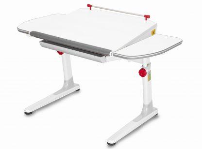 Rostoucí stůl Mayer Profi 3 5v1 bílý s červenými prvky