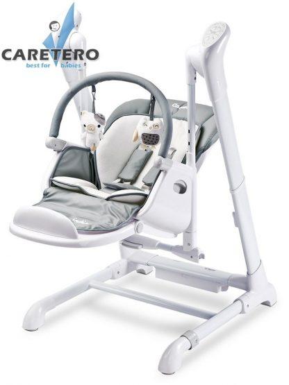 Dětská jídelní židlička 2v1 Caretero Indigo grey - detail 1