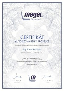 Certifikát Mayer