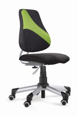 Rostoucí židle Actikid A2 M1 - Aquaclean černý + zelená síťovina