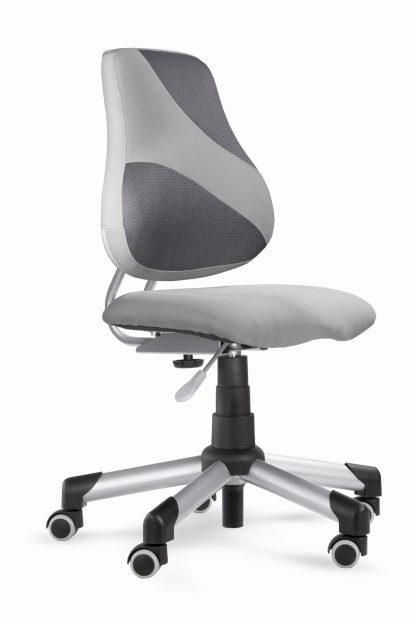 Židle Actikid A2 M2 - Aquaclean šedý + šedá síťovina
