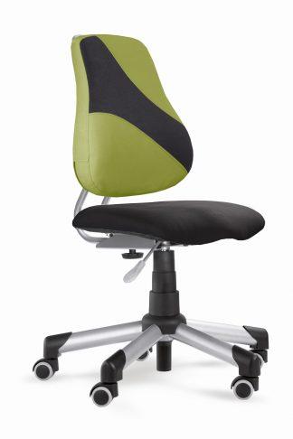 Rostoucí židle Actikid A2 Q2 - Aquaclean černý + zelená