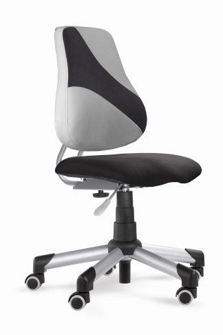 Rostoucí židle Actikid A2 Q2 - Aquaclean černý + šedý