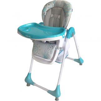 Jídelní židlička Baby Mix Junior blue