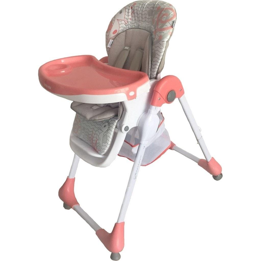 Jídelní židlička Baby Mix Junior pink
