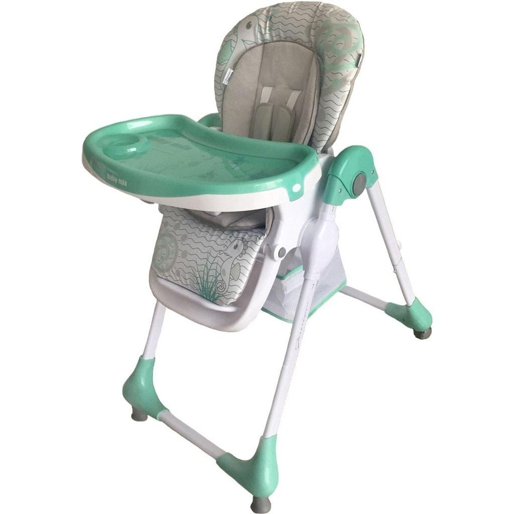Jídelní židlička Baby Mix Junior mint