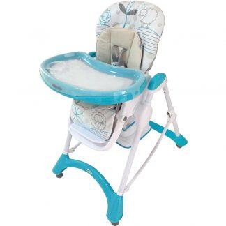 Jídelní židlička Baby Mix turquoise