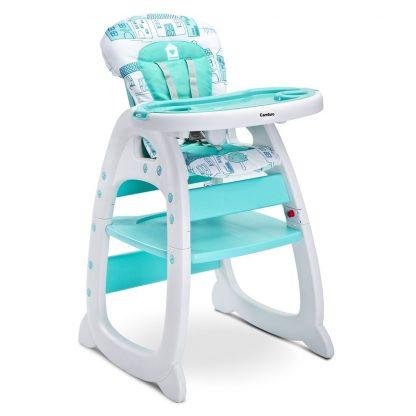 Jídelní židlička CARETERO HOMEE mint - detail 1