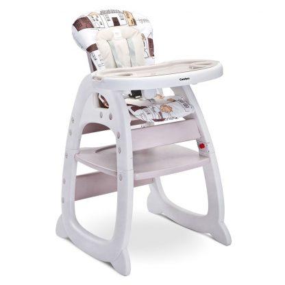 Jídelní židlička CARETERO HOMEE beige - detail 1