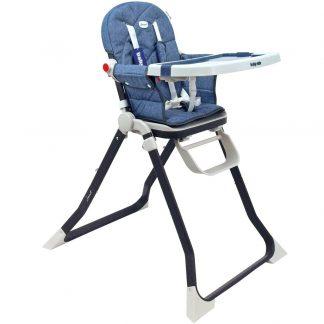 Jídelní židlička Baby Mix Smart navy