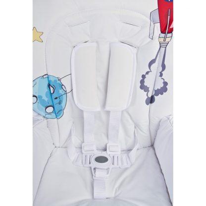 Jídelní židlička CARETERO Luna navy - detail 7