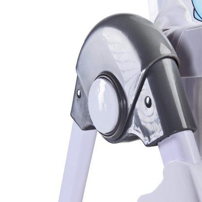Jídelní židlička CARETERO Luna grey - detail 6