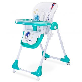 Jídelní židlička CARETERO Luna mint
