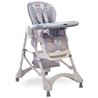 Židlička CARETERO Magnus New grey - detail 2