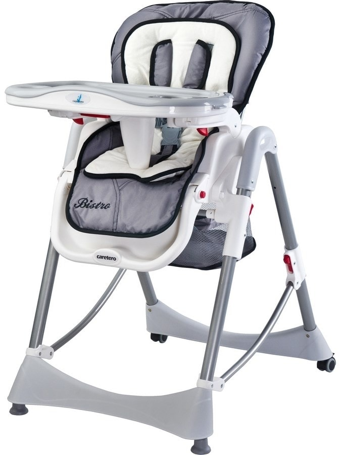 Židlička CARETERO Bistro grey