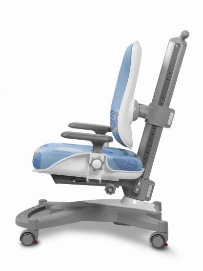 Rostoucí židle Mayer MyChamp - modrý potah s kruhy z boku