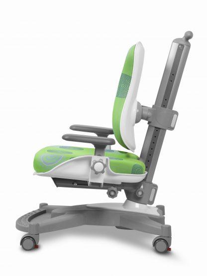 Rostoucí židle Mayer MyChamp - zelený potah s kruhy z boku