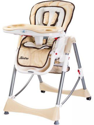 Židlička CARETERO Bistro cappuccino