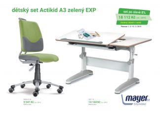 Mayer Set Expert Actikid zelený