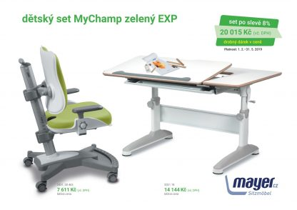 Mayer Set stůl Expert + MyChamp zelená