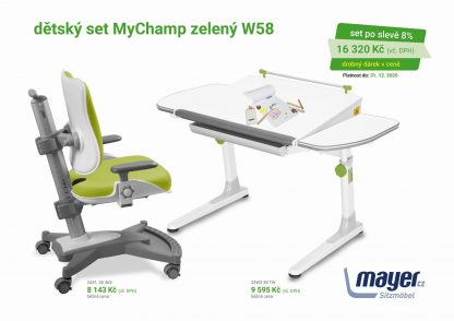 Mayer Set stůl Profi + MyChamp zelená