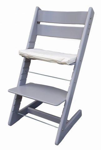 Židle Jitro Klasik šedá