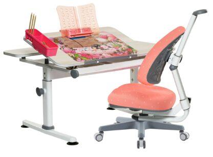 Set rostoucí stůl Žolík a židle Klára červená