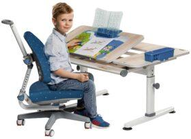 Set rostoucí stůl Žolík a židle Klára tmavě modrá