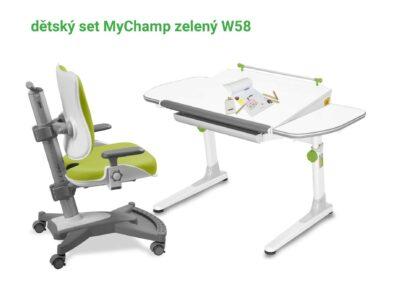Mayer Set stůl Profi + MyChamp zelená